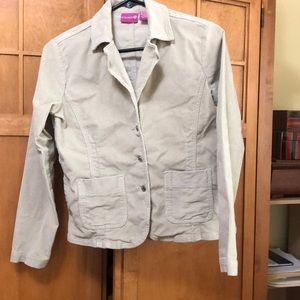 Corduroy tan jacket